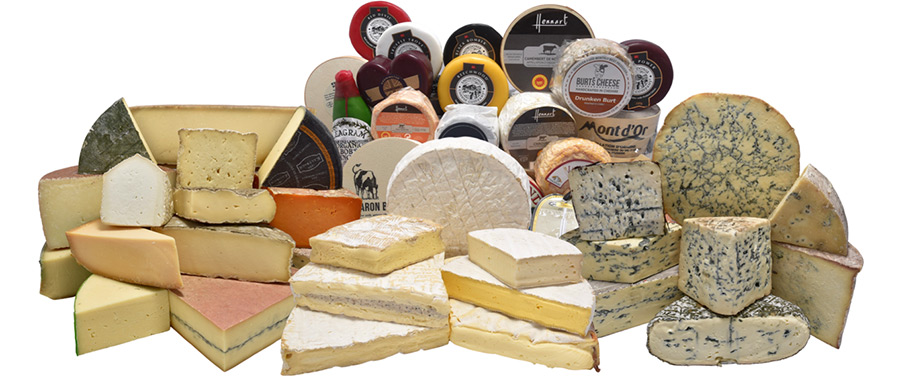 Click and collect cheese from The Cheese Hamlet, Didsbury