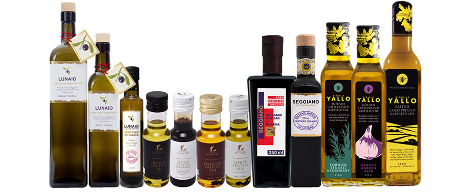 Click and collect oil & vinegar from The Cheese Hamlet, Didsbury